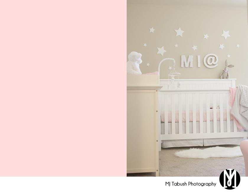 Baby Mia's nursery
